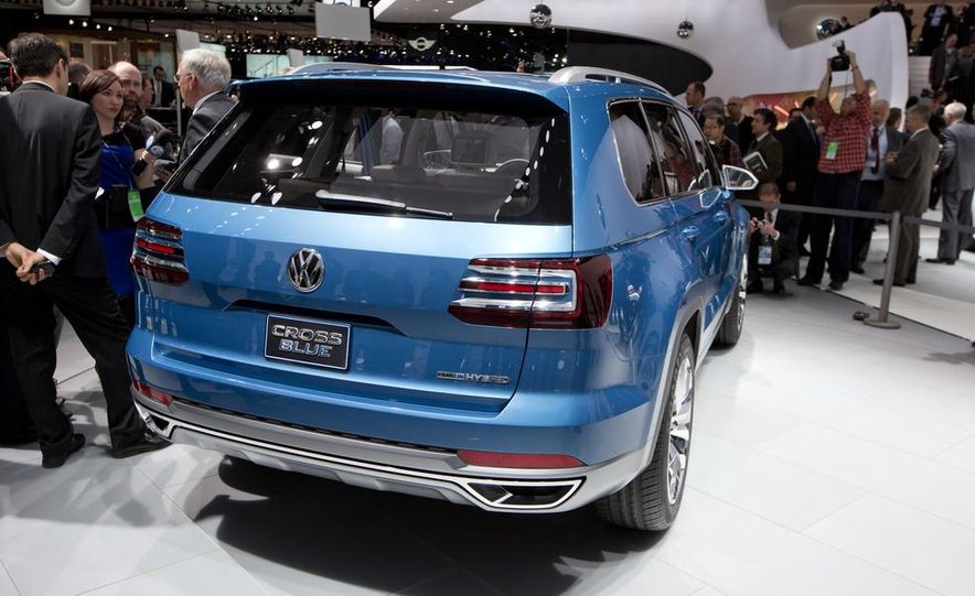 Volkswagen CrossBlue concept - Slide 7