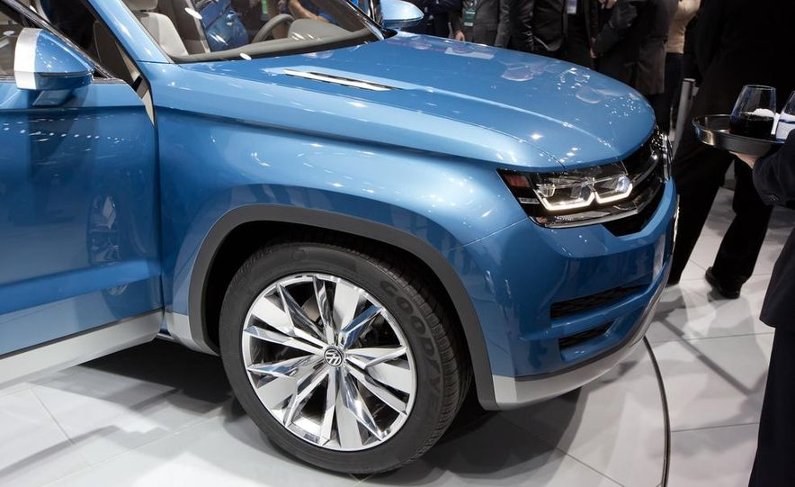 Volkswagen CrossBlue concept - Slide 8