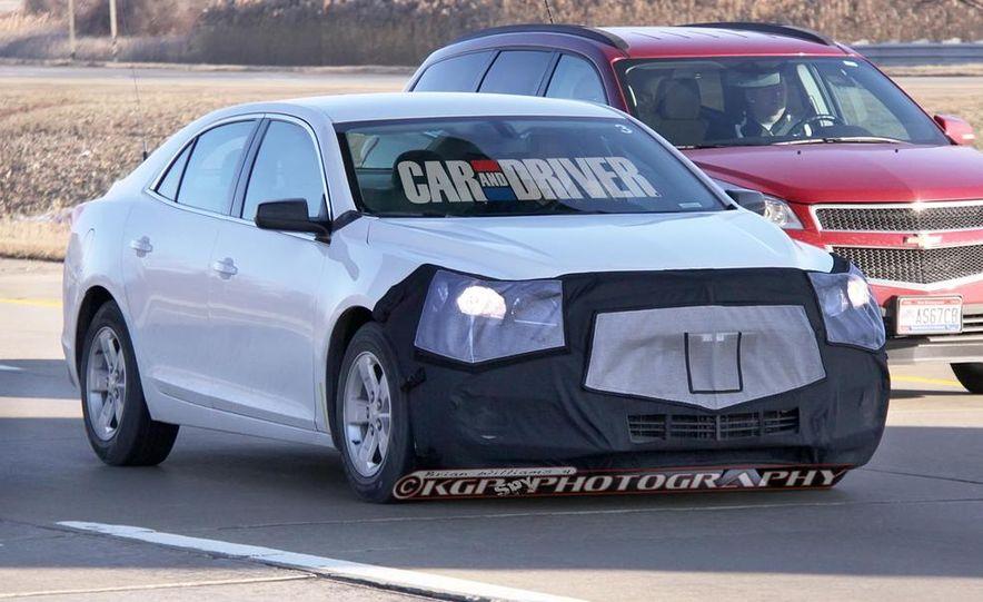 2014 Chevrolet Malibu (spy photo) - Slide 3