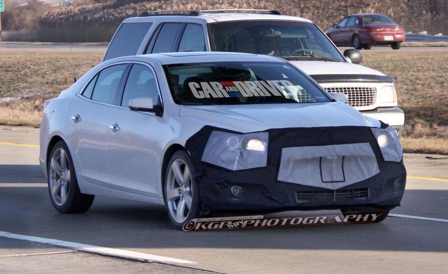 2014 Chevrolet Malibu (spy photo) - Slide 5
