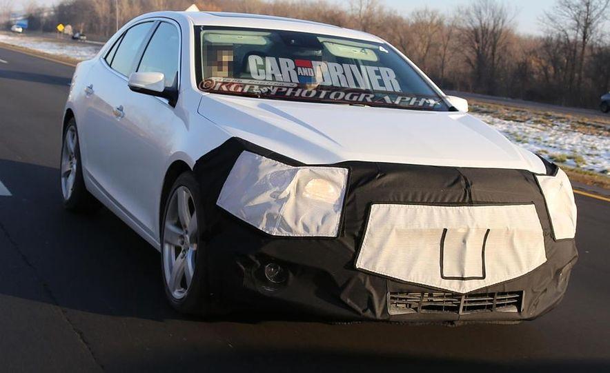 2014 Chevrolet Malibu (spy photo) - Slide 6