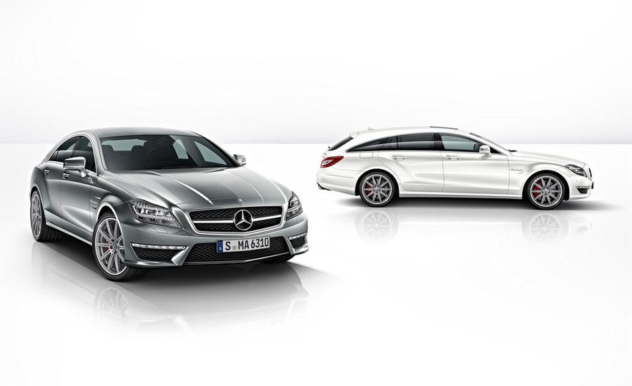 2014 mercedes benz cls63 amg s model 4matic sedan slide 2