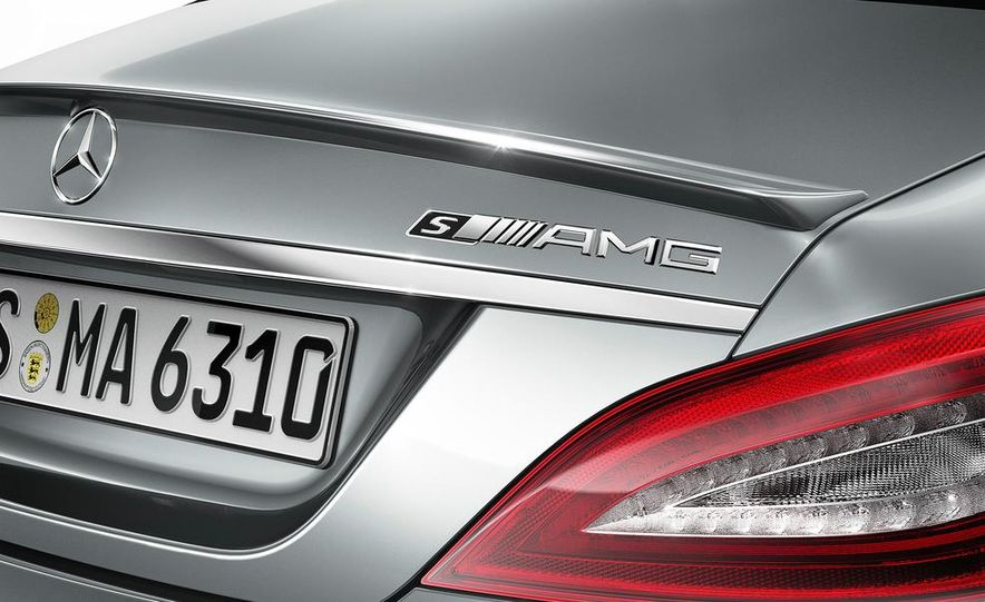 2014 Mercedes-Benz CLS63 AMG S-Model 4MATIC sedan - Slide 8