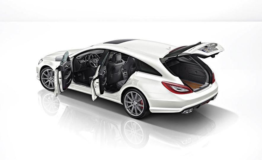 2014 Mercedes-Benz CLS63 AMG S-Model 4MATIC sedan - Slide 14