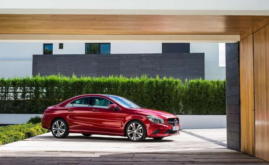 2014 Mercedes-Benz CLA200 Edition 1 - Slide 45