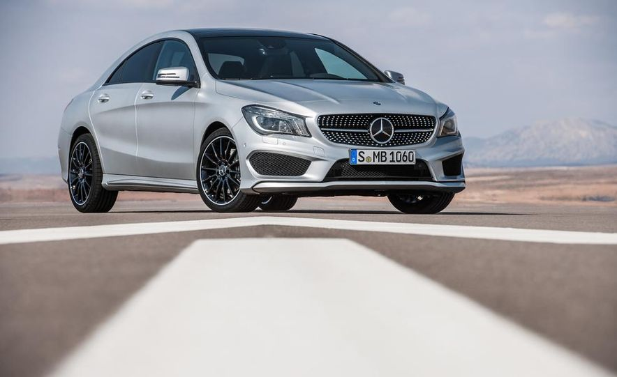 2014 Mercedes-Benz CLA200 Edition 1 - Slide 23