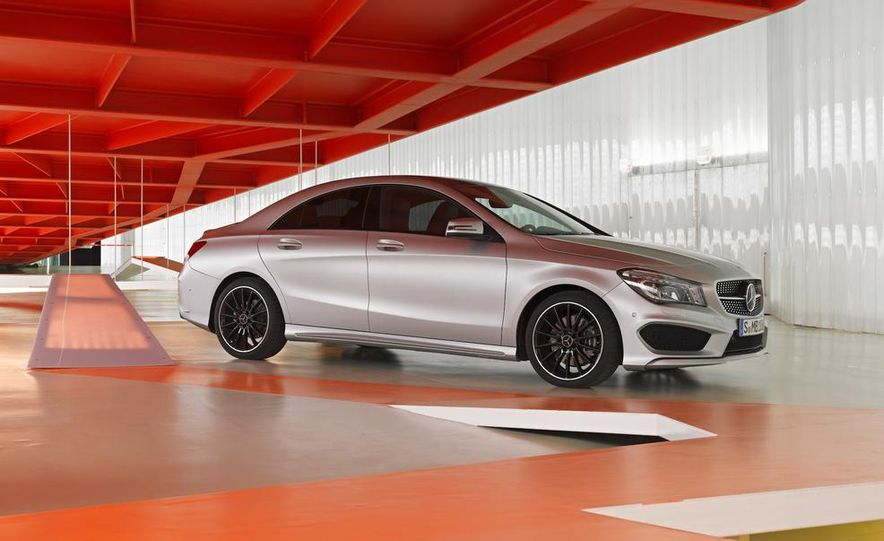 2014 Mercedes-Benz CLA200 Edition 1 - Slide 27
