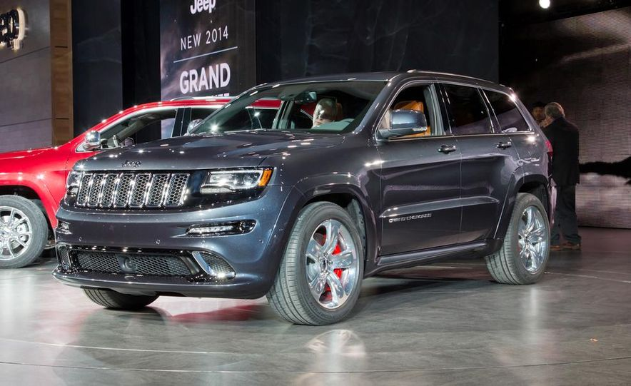 2014 Jeep Grand Cherokee SRT - Slide 2