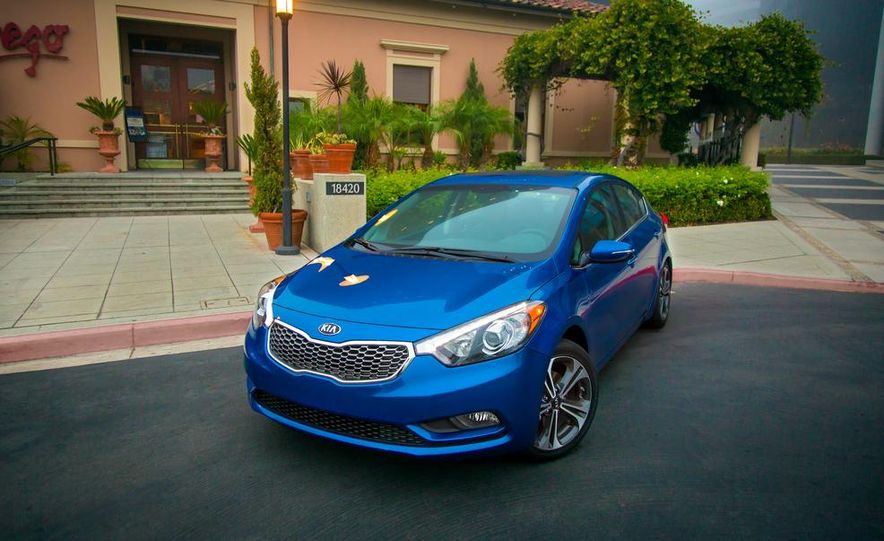 2014 Kia Forte EX GDI sedan - Slide 15