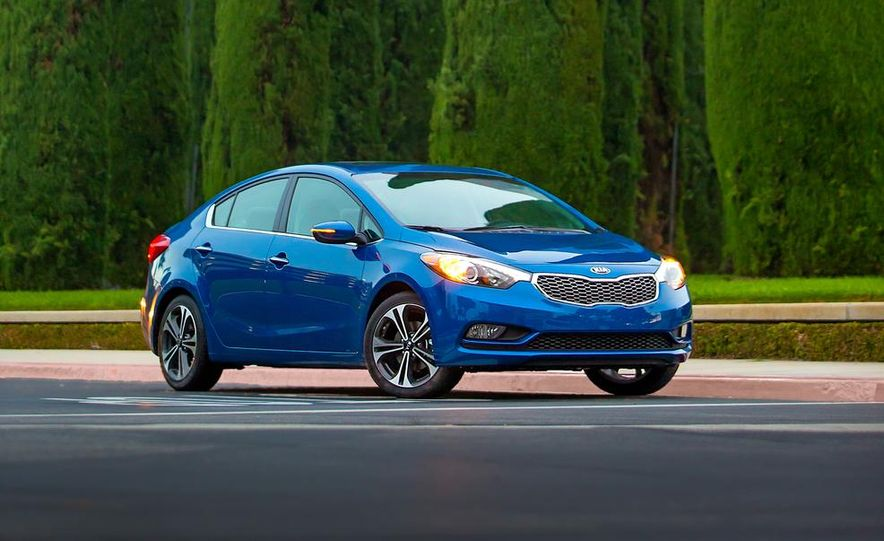 2014 Kia Forte EX GDI sedan - Slide 10