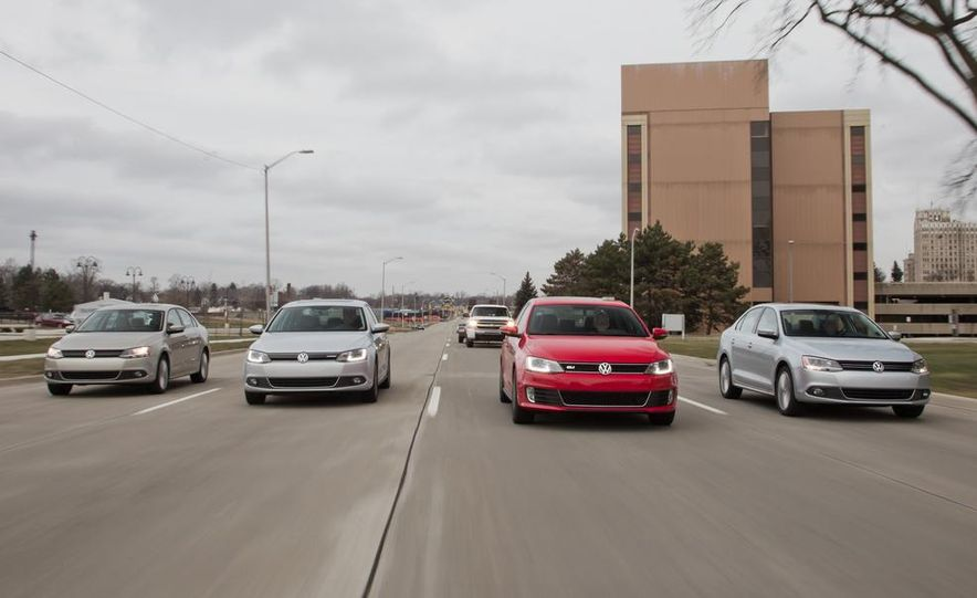 2013 Volkswagen Jetta GLI and TDI - Slide 4