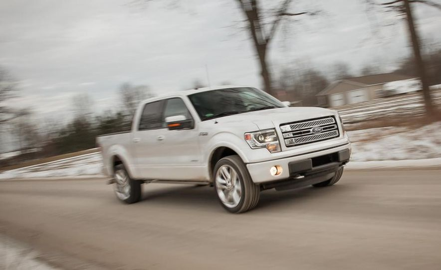 2013 Ford F-150 Limited EcoBoost V6 - Slide 2