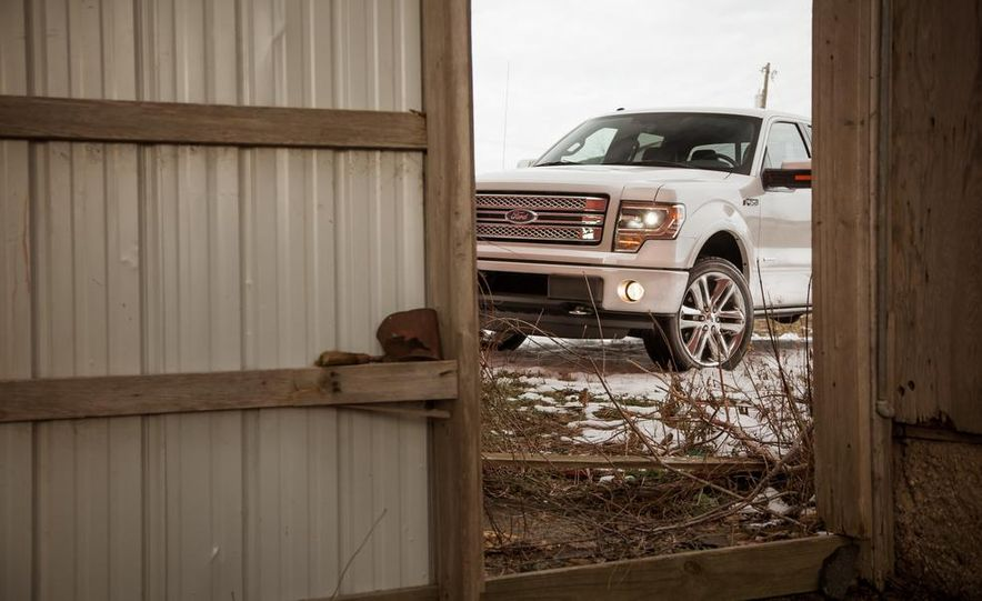 2013 Ford F-150 Limited EcoBoost V6 - Slide 13