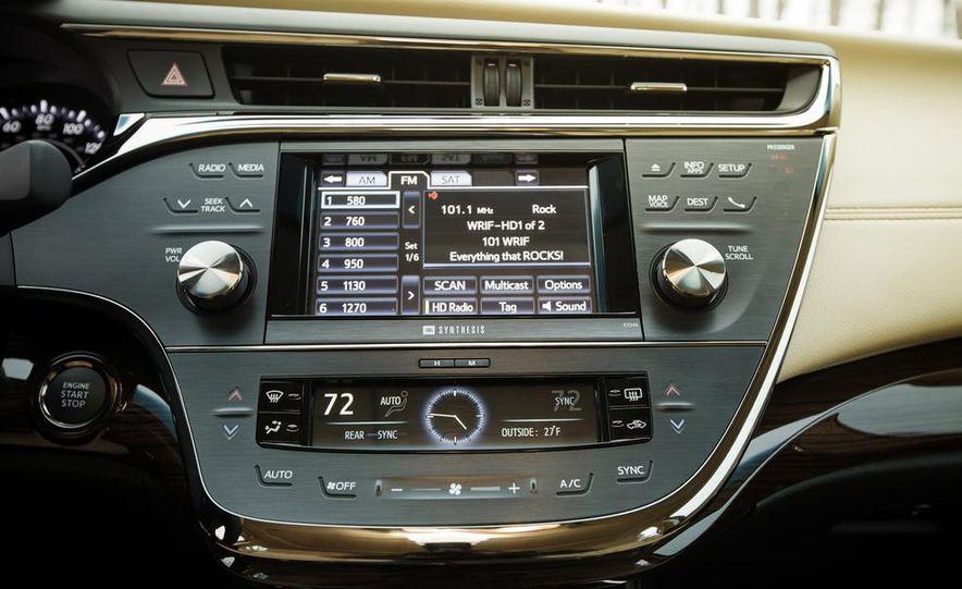 2013 Toyota Avalon Limited - Slide 34