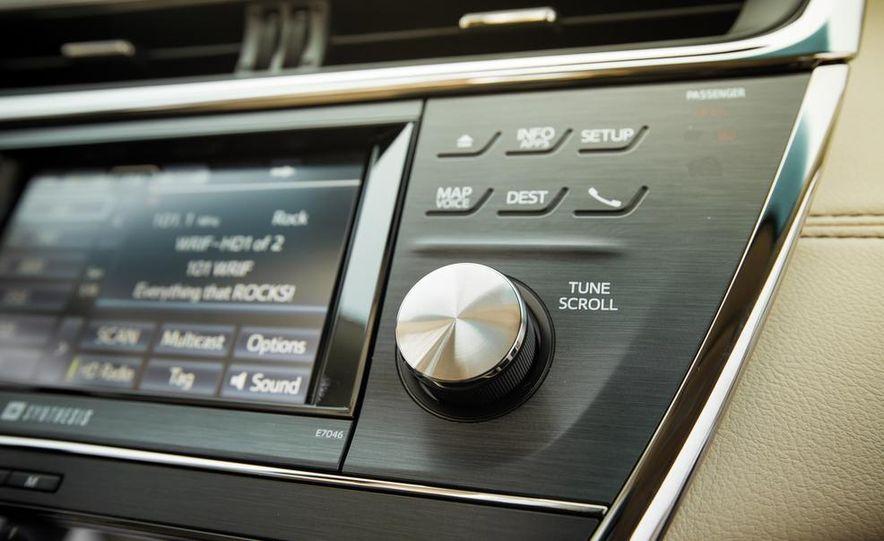 2013 Toyota Avalon Limited - Slide 36