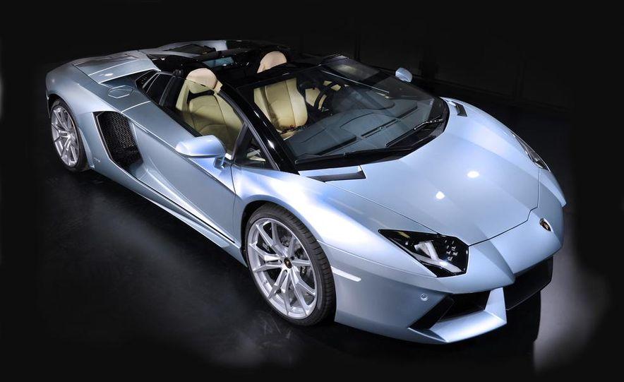 2013 Lamborghini Aventador LP700-4 Roadster - Slide 29