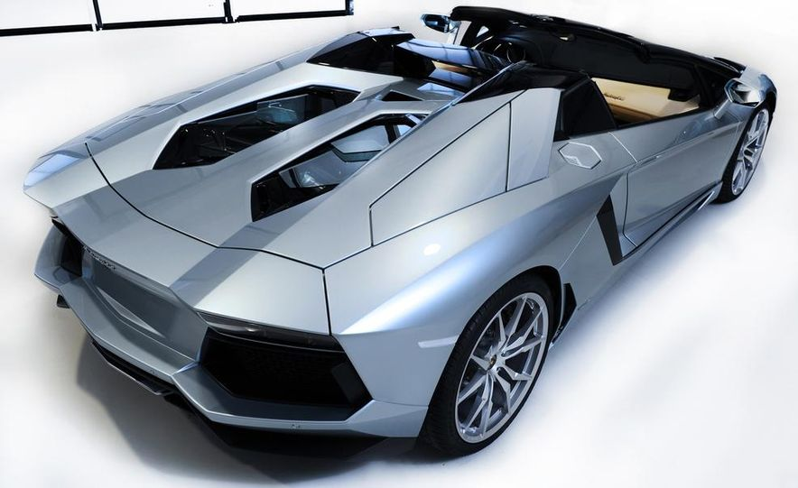 2013 Lamborghini Aventador LP700-4 Roadster - Slide 45