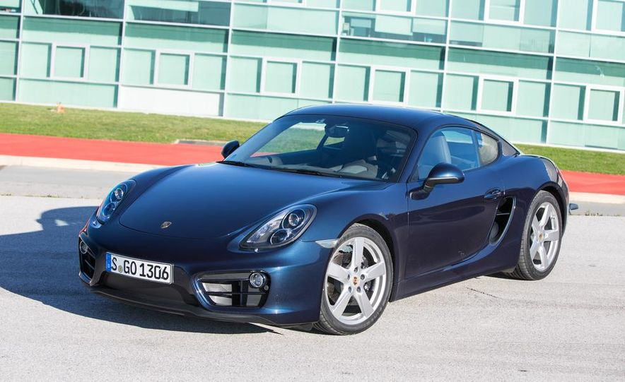 2014 Porsche Cayman S and Cayman - Slide 12
