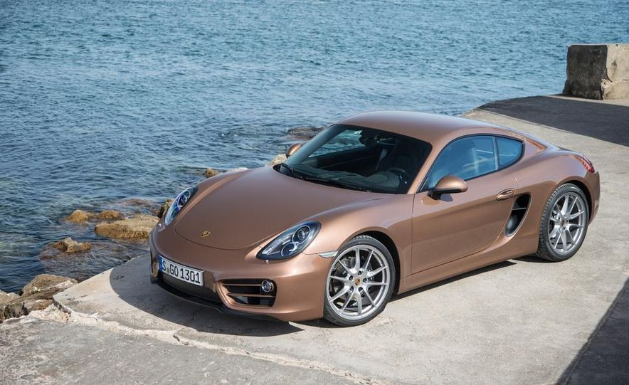 2014 Porsche Cayman S and Cayman - Slide 25
