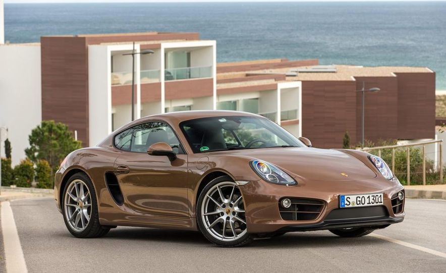 2014 Porsche Cayman S and Cayman - Slide 27