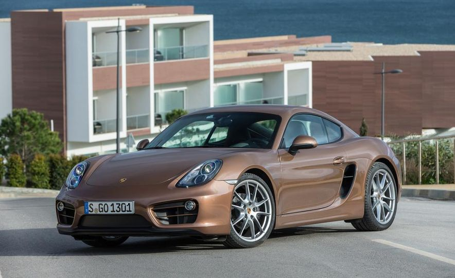2014 Porsche Cayman S and Cayman - Slide 28
