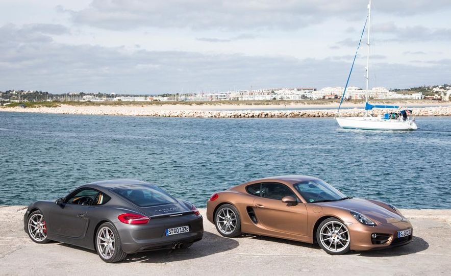 2014 Porsche Cayman S and Cayman - Slide 1