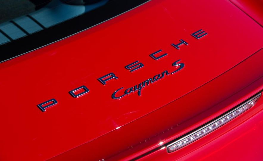 2014 Porsche Cayman S and Cayman - Slide 70