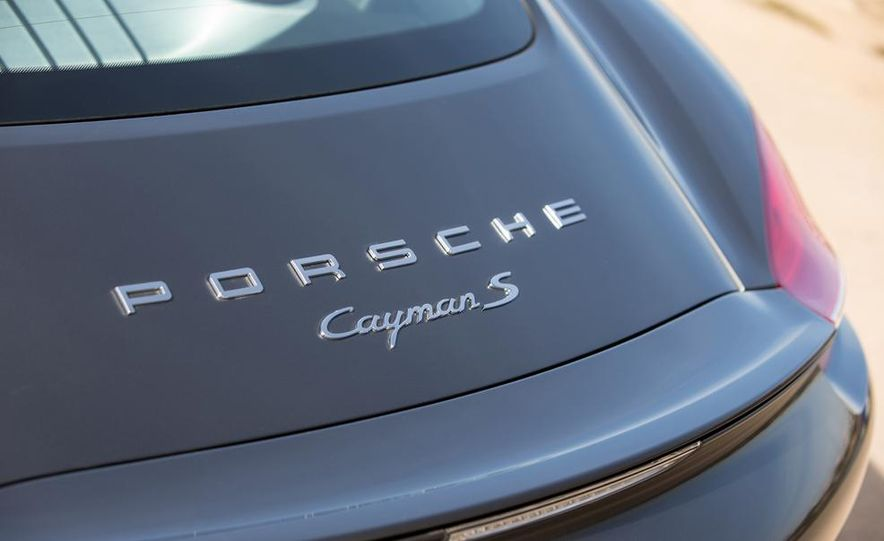 2014 Porsche Cayman S and Cayman - Slide 88