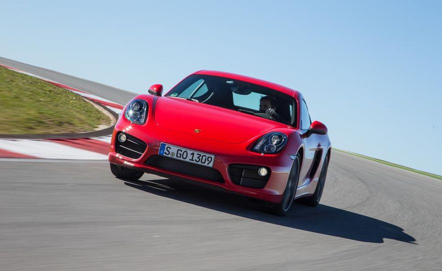 2014 Porsche Cayman S and Cayman - Slide 37