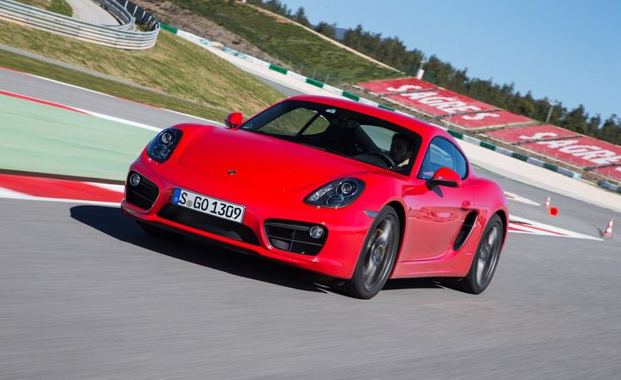 2014 Porsche Cayman S and Cayman - Slide 38