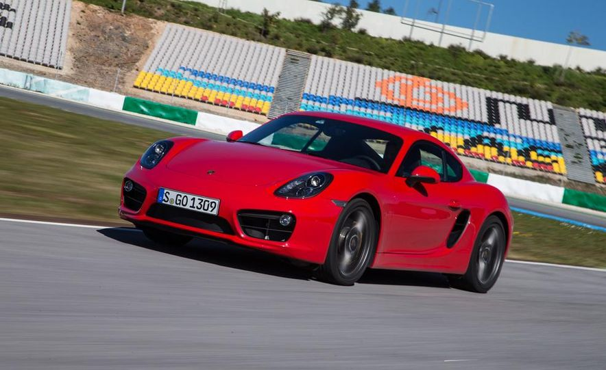 2014 Porsche Cayman S and Cayman - Slide 40