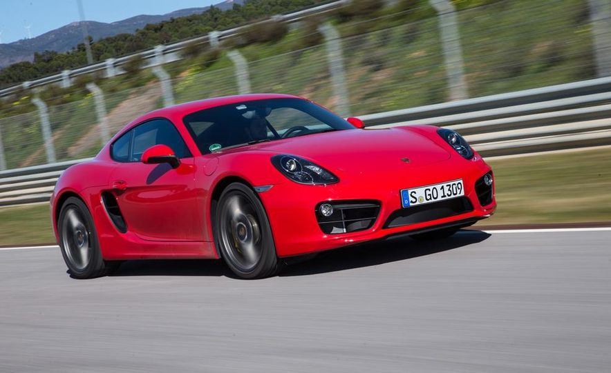 2014 Porsche Cayman S and Cayman - Slide 41