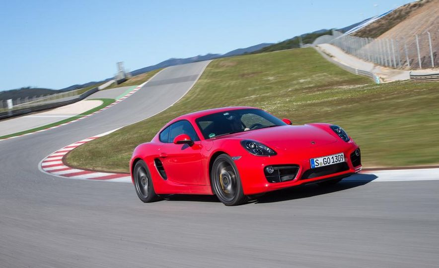 2014 Porsche Cayman S and Cayman - Slide 42