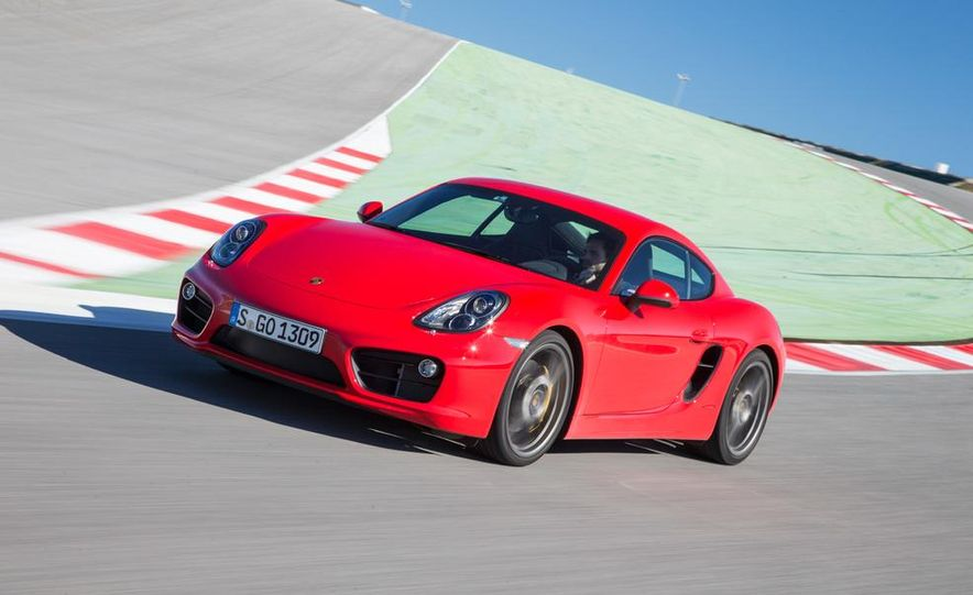 2014 Porsche Cayman S and Cayman - Slide 44