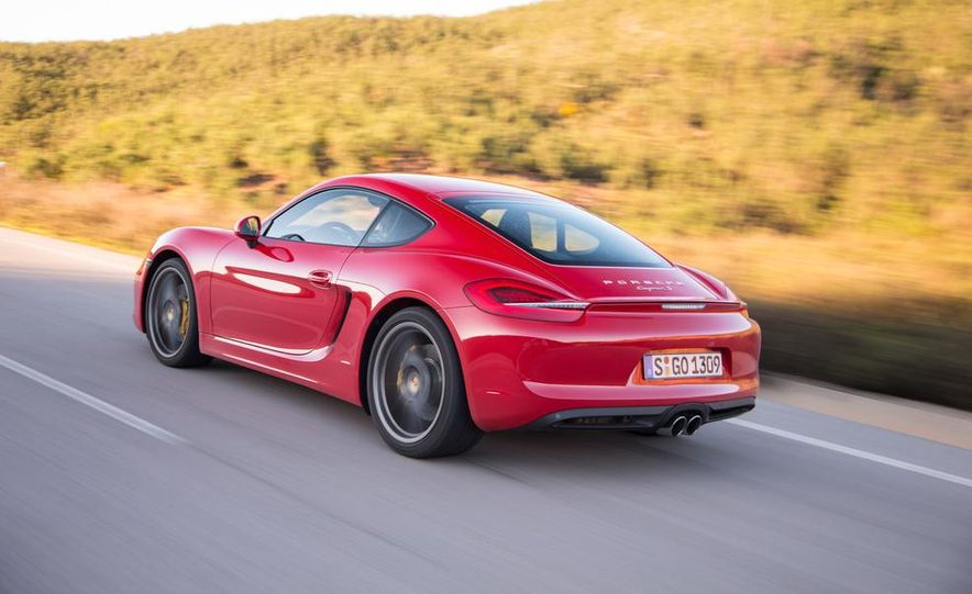 2014 Porsche Cayman S and Cayman - Slide 49
