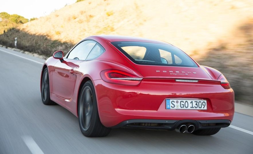 2014 Porsche Cayman S and Cayman - Slide 52