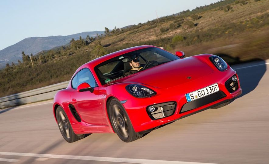 2014 Porsche Cayman S and Cayman - Slide 53