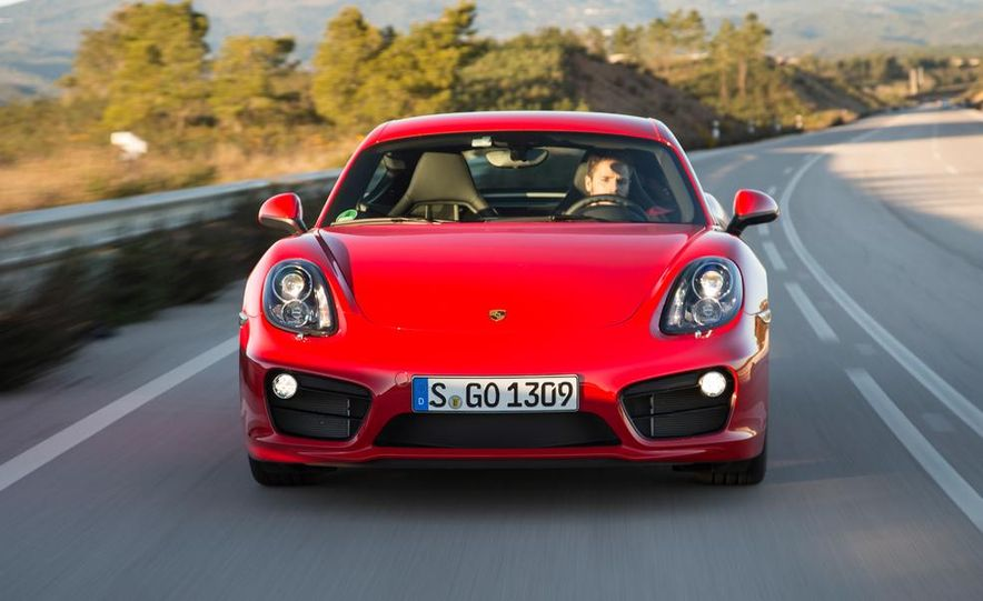 2014 Porsche Cayman S and Cayman - Slide 54