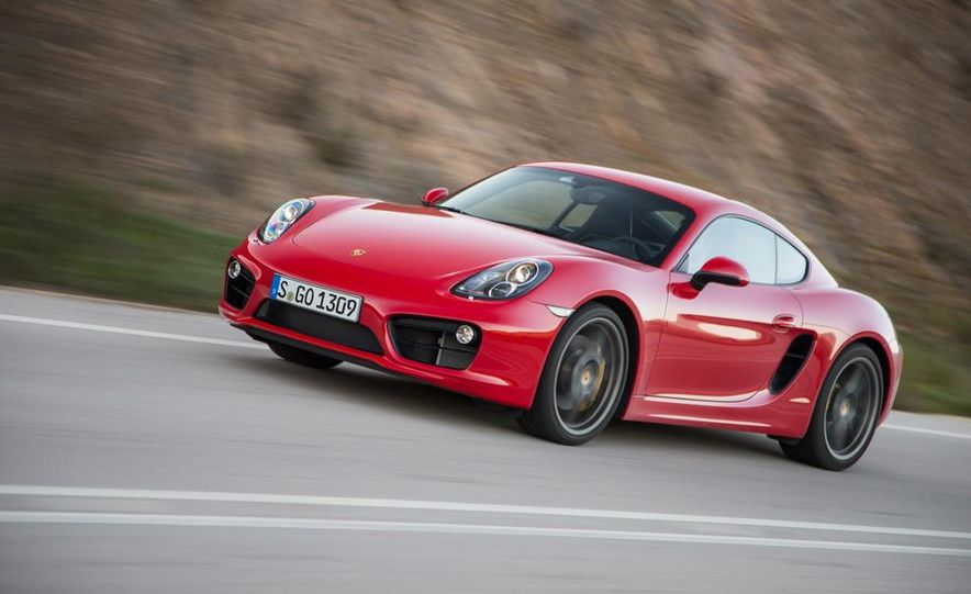 2014 Porsche Cayman S and Cayman - Slide 55