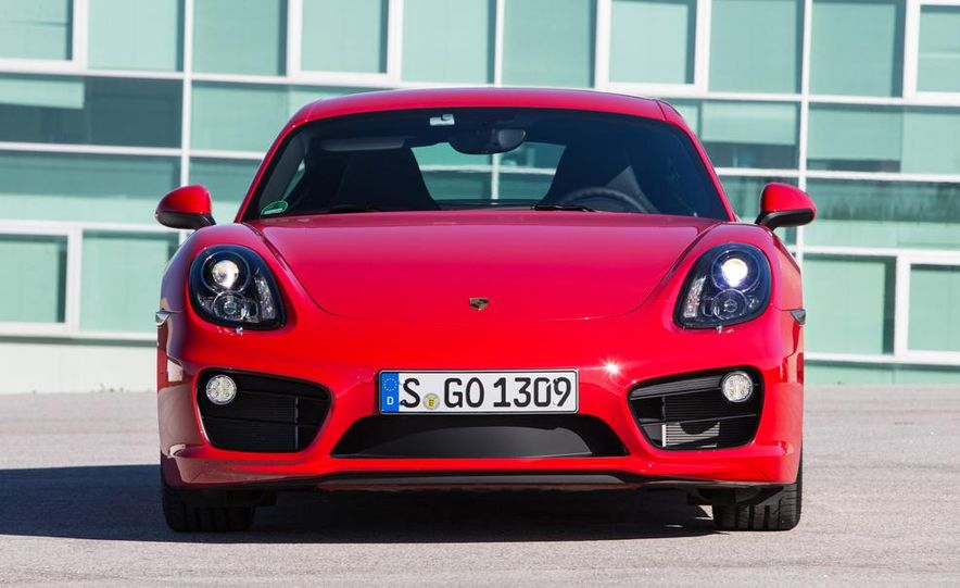 2014 Porsche Cayman S and Cayman - Slide 57