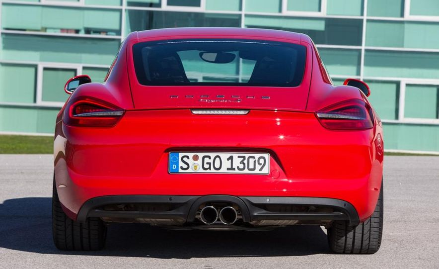 2014 Porsche Cayman S and Cayman - Slide 58