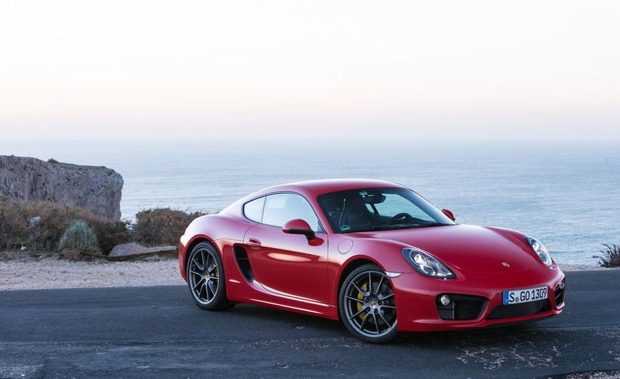 2014 Porsche Cayman S and Cayman - Slide 63