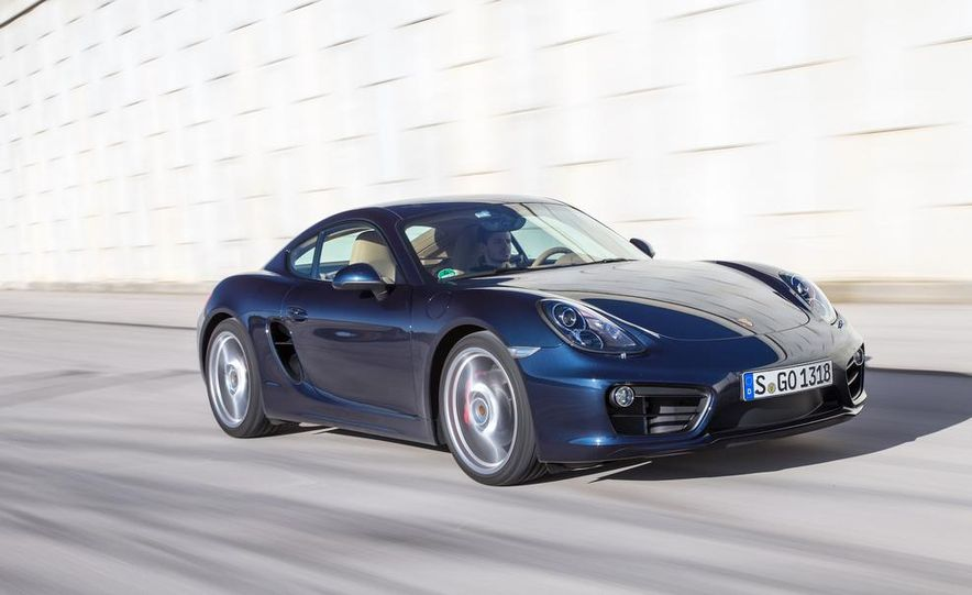 2014 Porsche Cayman S and Cayman - Slide 77