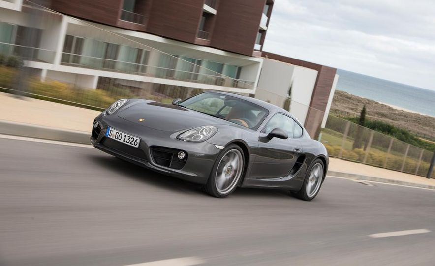 2014 Porsche Cayman S and Cayman - Slide 81
