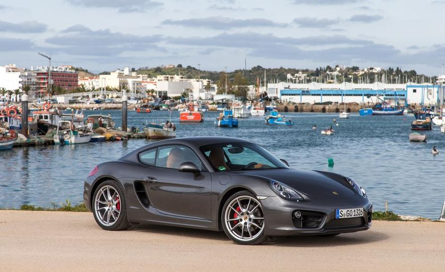2014 Porsche Cayman S and Cayman - Slide 82