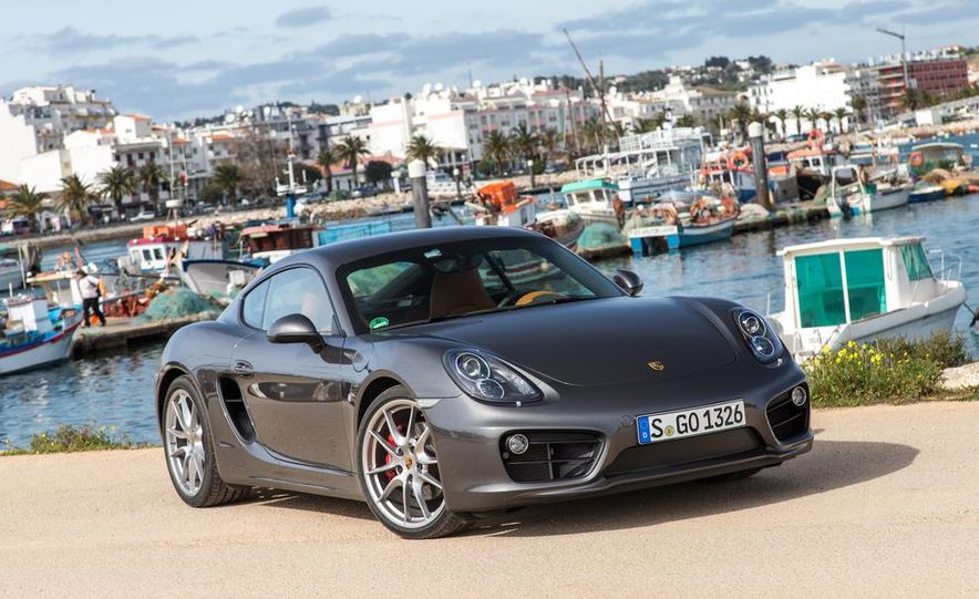 2014 Porsche Cayman S and Cayman - Slide 83