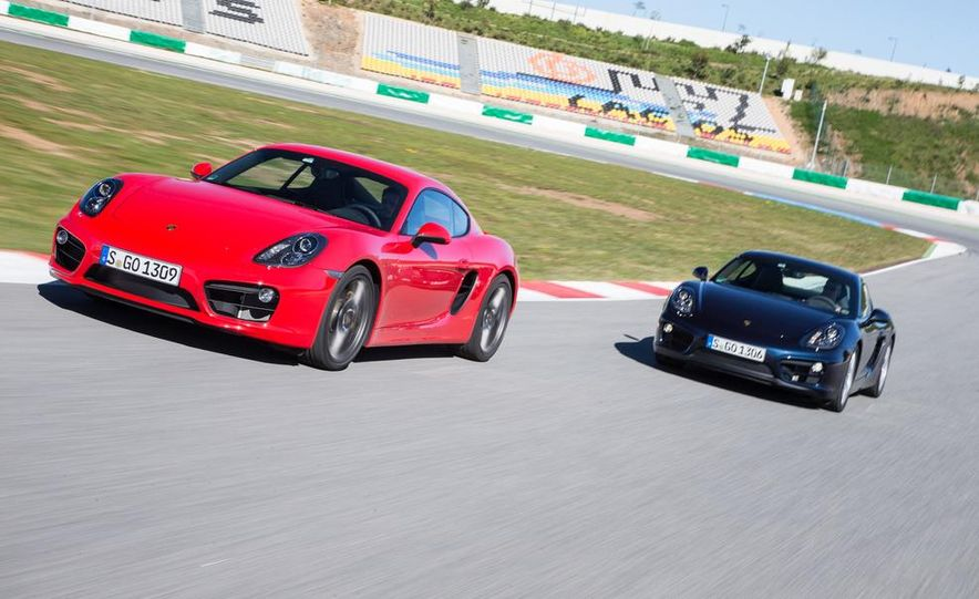 2014 Porsche Cayman S and Cayman - Slide 2