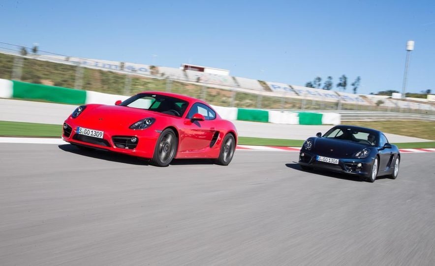 2014 Porsche Cayman S and Cayman - Slide 3