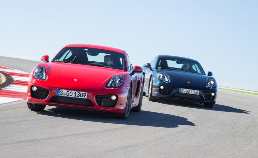 2014 Porsche Cayman S and Cayman - Slide 4