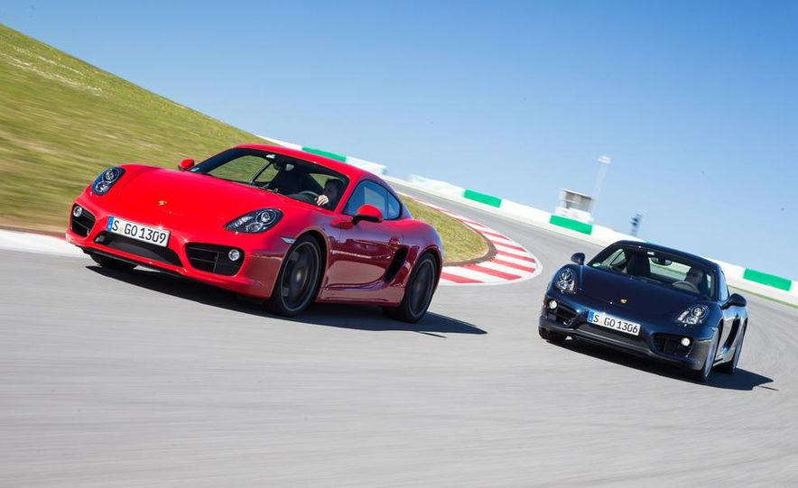 2014 Porsche Cayman S and Cayman - Slide 5